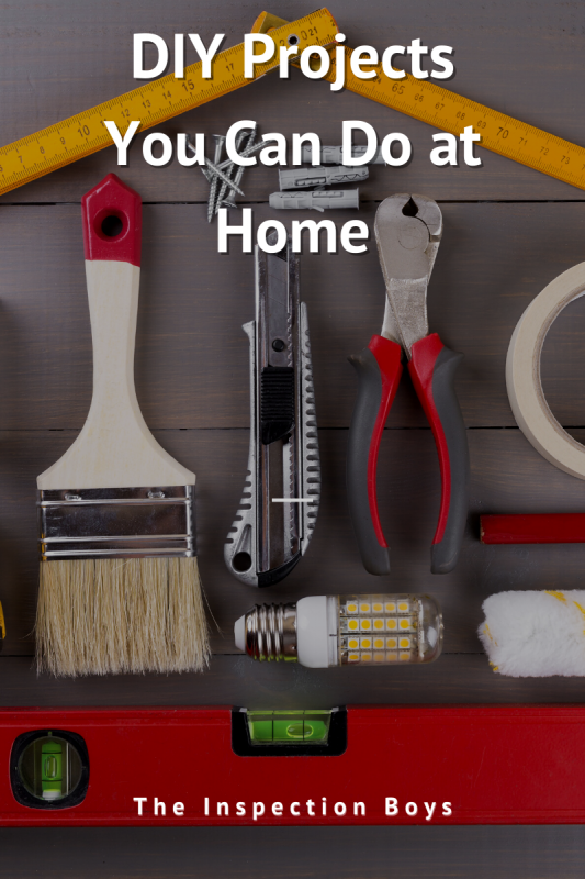 DIY Projects you can do at home