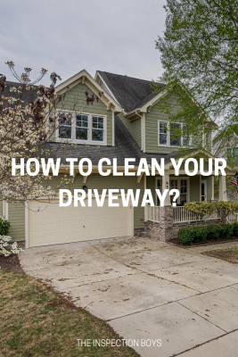 How to clean your driveway?