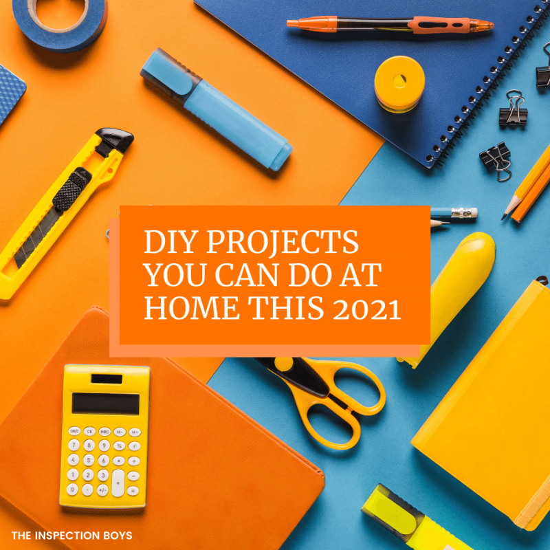 DIY Projects You can do at home this 2021
