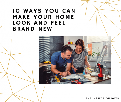 10 Ways You Can Make Your Home Look and Feel Brand New