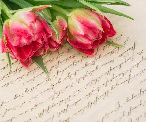 Handwritten love letters
