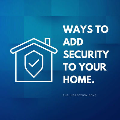 Ways to add security to your home