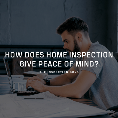 How does home inspection gives peace of mind?
