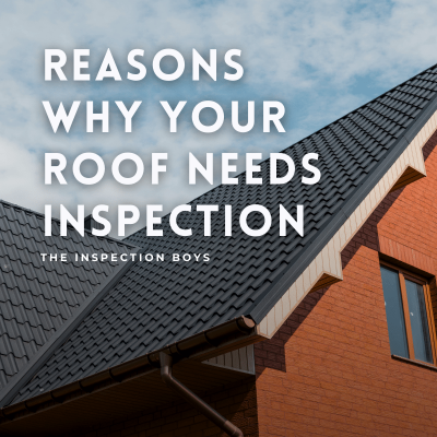 reasons why your roof needs inspection