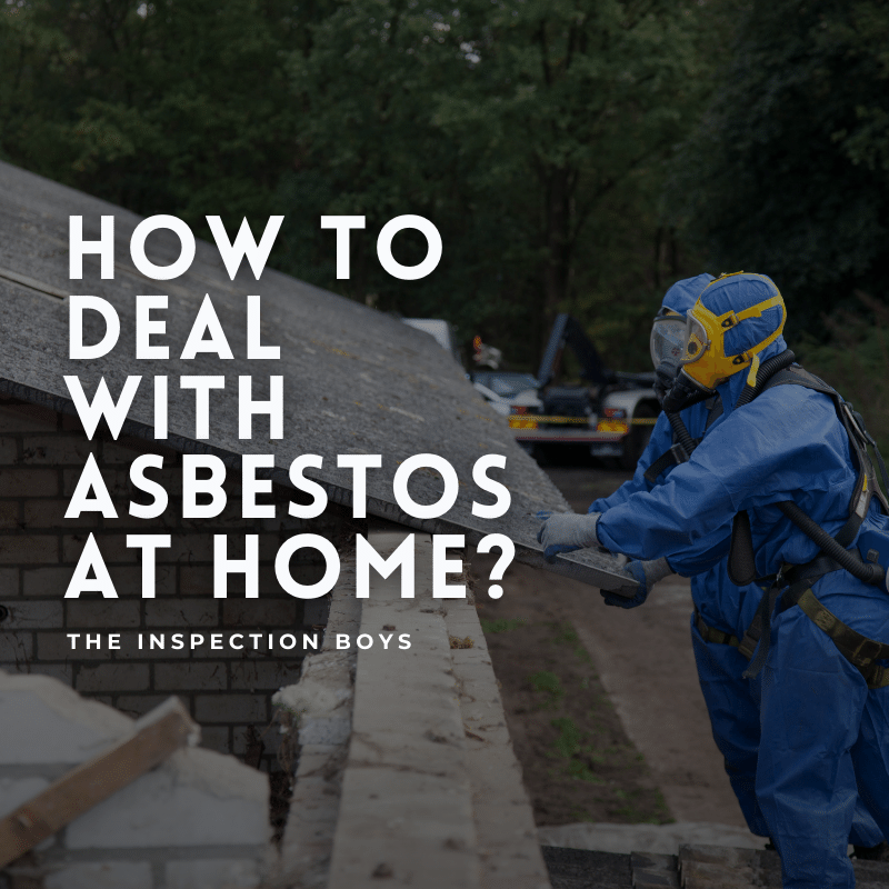 How to deal with asbestos at home?