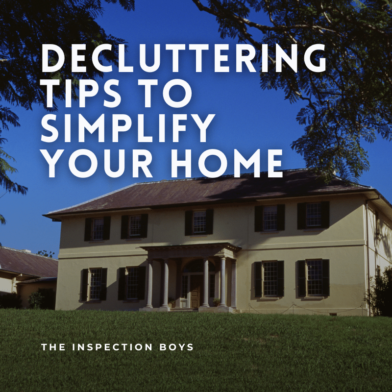 Decluttering tips to simplify your home.