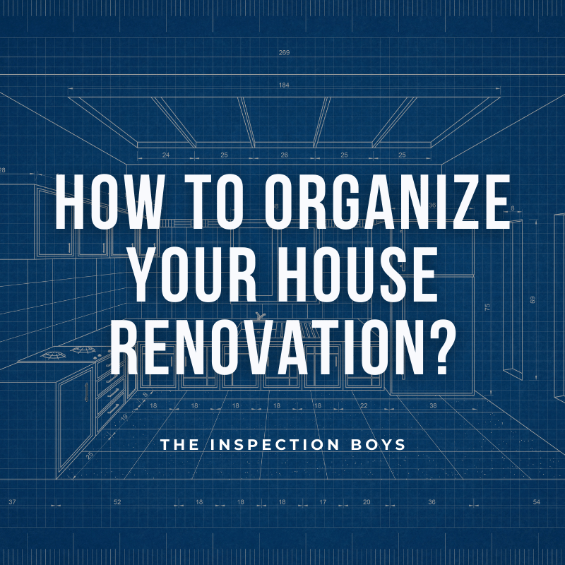 how to organize your house renovation?