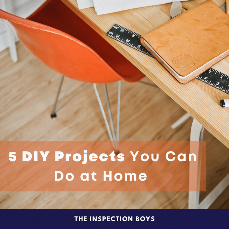 5 DIY Projects You Can Do at Home