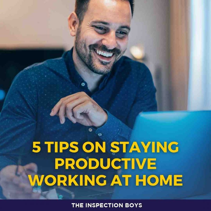 5 tips on staying productive working at home